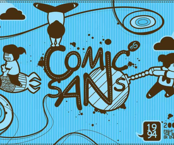 Comic Sans ms by Achi Soerjanto
