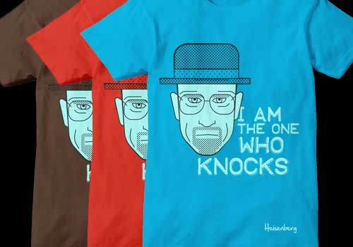 Faces of Breaking Bad by Emilio Cassanese