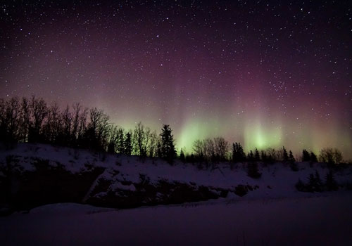 Aurora, Salt River, AB by Thomas Koidhis