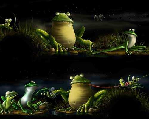 Frog by salfetkin