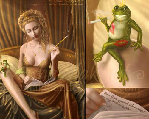 Wrong Frog? by Mariya Kovaleva