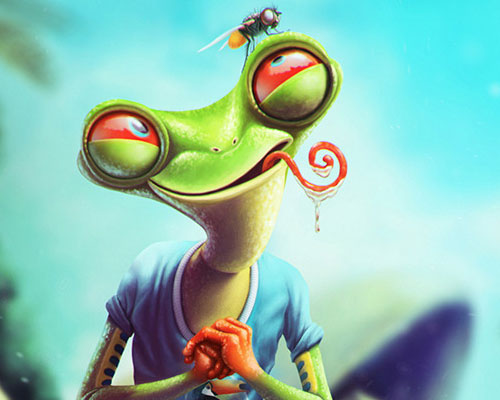 Frog by baydaku