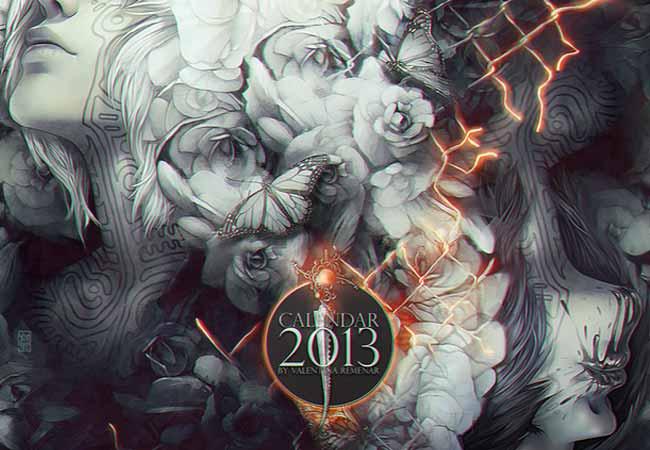 Calendar 2013 by tincek-marincek