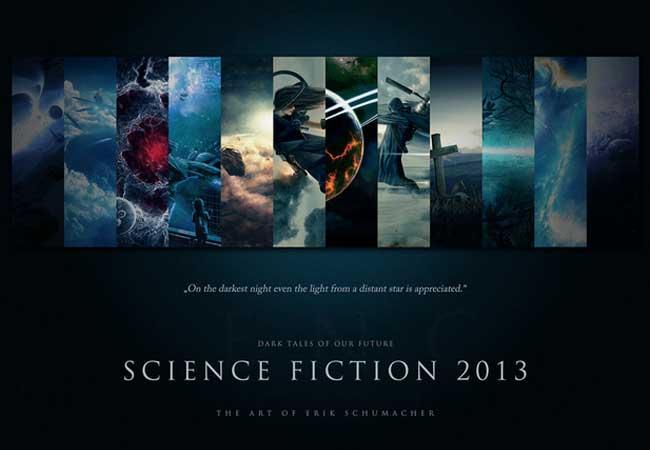 Scifi Calendar 2013 by ErikShoemaker