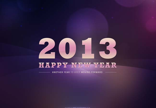 Happy New Year! 2013 by tajio