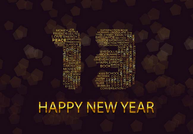 Happy new year 2013 by r3xon