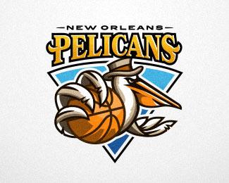 Pelicans New Orleans by Sergey Lobzenko