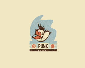 Punk Duck by zapunk