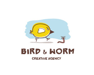 Bird & Worm Creative Agency by maxlapteff