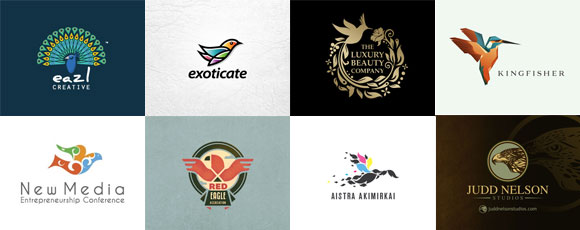 25 Bird-Inspired Logo Designs