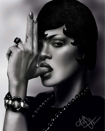 Rihanna by Brian Golden