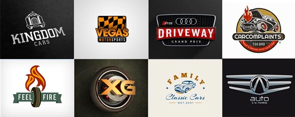 Inspiring Logo Designs featuring Cars