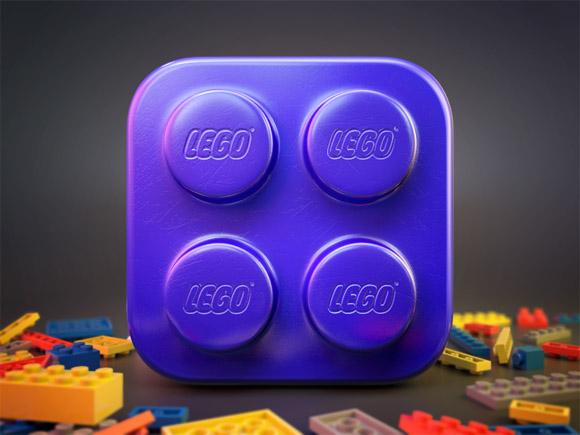 Lego Brick Icon