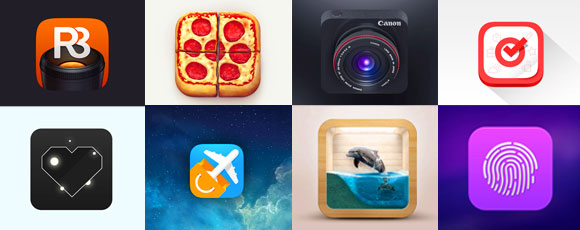 A Showcase of Creative iOS App Icons