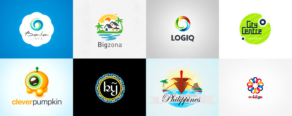 Collection of Colorful and Round Logos